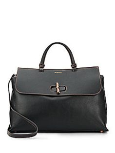 Valentino By Mario Olimpia Leather Black Satchel. Save 44% on the Valentino By Mario Olimpia Leather Black Satchel! This satchel is a top 10 member favorite on Tradesy. See how much you can save