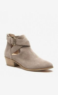 The perfect summer bootie with cool cutouts
