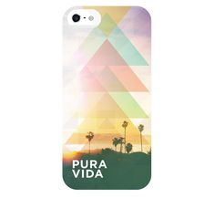 "Use code ""SAYE10"" at checkout for 10% off your purchase http://puravidabracelets.com/ Kilauea Triangles iPhone 5 Case | Pura Vida Bracelets"