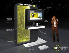 Body Glove Kiosk by Core Design Group Pop Display, Display Design, Booth Design, Kiosk Design, Retail Design, Pop Design, Stage Design, Window Display Retail, Displays