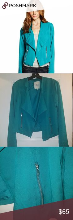 JACK by BB Dakota turquoise Coyle blazer Beautiful Jack by BB Dakota blazer; Gorgeous turquoise color; Excellent unused condition Jack by BB Dakota Jackets & Coats Blazers