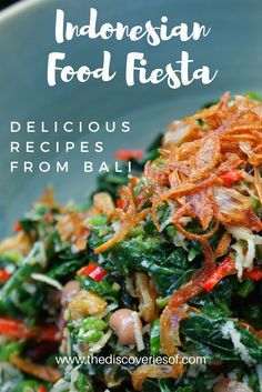 Learning to cook tasty Indonesian food recipes in Bali - complete with full recipes for you to try at home!