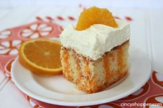 If you are needing an easy and full of flavor cake you will want to try this Creamsicle Cake Recipe. My family is all huge fans of Creamsicles! I shared our