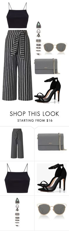 """Sem título #112"" by andick on Polyvore featuring moda, Miss Selfridge, DKNY, Boohoo, Nasty Gal e Christian Dior"