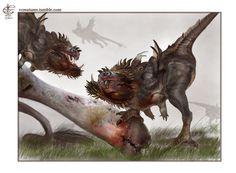 Piranha Dragon by V4m2c4 on DeviantArt