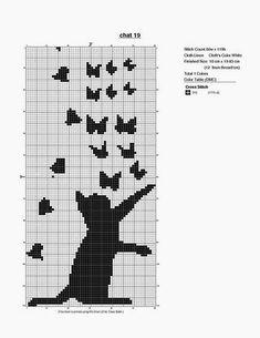 Chat aux papillons1