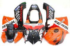 Carenado de ABS de Honda CBR 600RR F5 2005-2006 - Repsol