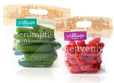 Awesome packaging...Easy to carry and keep veges fresh. Stores nicely too... snack veggies