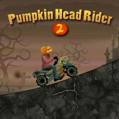 In #Pumpkin Head Rider 2 #Arcade #Game, its #Halloween again! The #scary and #evil Pumpkin Head Rider is back out to scare the poor little #kids and get all the #candy off them for himself!