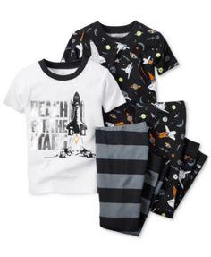 Carter's Toddler Boys' 4-Piece Reach For The Stars Pajamas Set