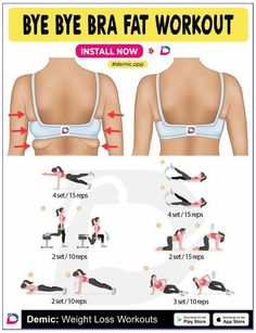bra fat workout at home