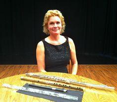 Prospect, Connecticut's Grammy Award Winning Flutist, Rhonda Larson.  http://networkconnecticut.com/2014/08/prospects-grammy-award-winning-flutist-rhonda-larson/