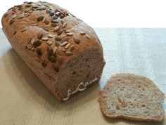 Cashew nut, light whole wheat bread, encrusted with pumpkin and sunflower seeds ... @ http://www.foodcult.com