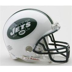 New York Jets NY Mini Riddell Helmet - Mini VSR4 Helmet