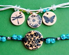 Upcycled Wine Cork Pendants