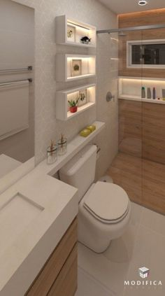 Diy home decor Diy home decor Bathroom Design Luxury, Bathroom Layout, Modern Bathroom Design, Toilette Design, Modern Small Bathrooms, Bad Styling, Bathroom Toilets, Bathroom Styling, Bathroom Inspiration
