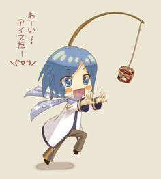 Kaito Ice cream!! ((This is how Meiko gets him to exercise...))