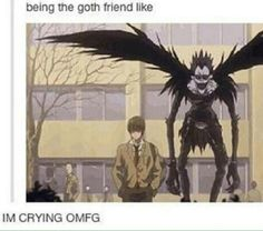 """""""Is this social repose?"""" ~the person who pinned this before me XD I will now refer to Social Repose as Ryuk from Death Note"""