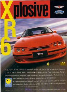 1997 Ford EL Falcon XR6 - Tickford Ad