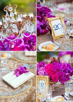 This Radiant Orchid outdoor wedding takes glam to the next level. Description from pinterest.com. I searched for this on bing.com/images