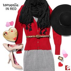 Valentine's Style: Romantic in Red. We love everything about Valentine's Day. The hearts. The chocolate. And the excuse to get dressed up! Every great outfit starts with the right pair of shoes. What's your Valentine's style?