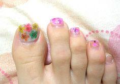 Cute Toe Nail Designs: Wonderful Butterfly Toe Nails Designs ~ Nail Designs Inspiration Cute Toe Nails, Cute Toes, Toe Nail Art, Gel Nails, Toenails, Fancy Nails, Manicure, Pedicure Designs, Toe Nail Designs