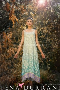 Item: Camellia - Aquamarine Silk Net Product Code: C4 #Pakistan #southasian #Womensfashion