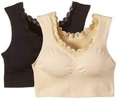 Damen Bustier mit Spitze, 2er Pack S-M Bustiers, Bodysuit, Underwear, Fashion, La Mode, Lace, Bra Tops, Kleding, Giving Up