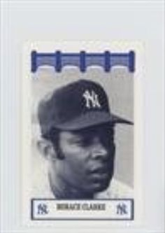 Horace Clarke (Baseball Card) 1992 The Wiz/Fisher New York Yankees of the '70's #HOCL -- Awesome products selected by Anna Churchill