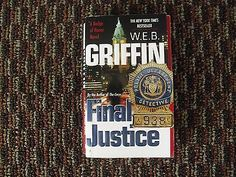 cool W.E.B. Griffin Final Justice Paperback Book - For Sale View more at http://shipperscentral.com/wp/product/w-e-b-griffin-final-justice-paperback-book-for-sale/