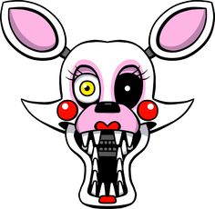 Five Nights at Freddy's Mangle shirt design by kaizerin =========================   #FNAF