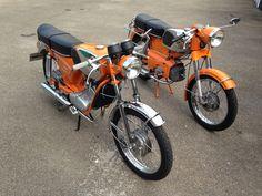 1973 Zündapp KS 50 517-50 L0 und 1971 Kreidler Florett RS K54-53B