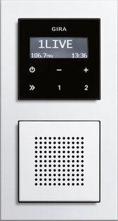 Gira inbouwradio RDS