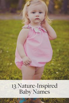 13 Nature-Inspired Baby Names That Aren't Too Out-There via @PureWow