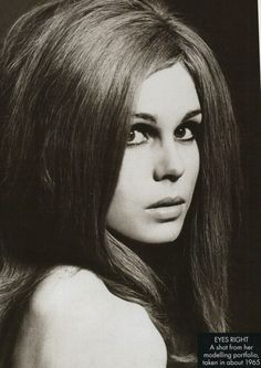 A Younger Joanna Lumley @ 19 years old.