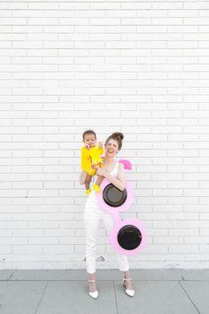 How To Make A Sunglasses + Baby Sun Costume   studiodiy.com
