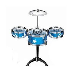 Blue New Jazz Drums Set Kit Toy Game for Kids Toddlers