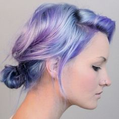 Digital Art Illustration Design | dark-purple-hair-colors-new-short-hair-pertaining-to-pastel-hair-color ...