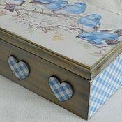 Просмотр сообщения - Inbox Mail #caixasdemadeira Просмотр сообщения - Inbox Mail Decoupage Box, Decoupage Vintage, Diy Projects For Adults, Craft Projects, Baby Keepsake, Keepsake Boxes, Fabric Painting, Painting On Wood, Home Crafts