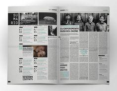 Espectro / Editorial Newspaper on Behance