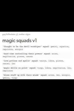 Magic squad