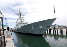"Botado el ""Brisbane"", segundo destructor AWD australiano-noticia defensa.com"