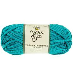 Turquoise Yarn Bee Urban Adventure Yarn