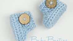 Crochet baby booties in 15 minutes or less! And baby minion booties