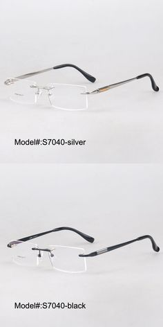 5113d26832a MY DOLI stainless steel myopia eyewear eyeglasses rimless RX optical frames  prescription glasses for men S7040