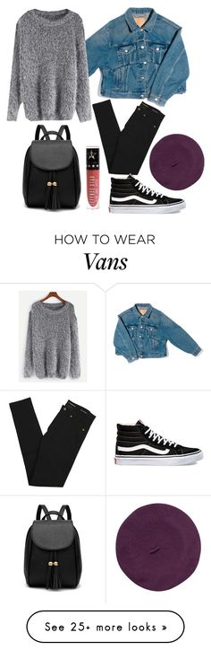 """#15"" by champagne-in-the-veins on Polyvore featuring Balenciaga, Yves Saint Laurent, WithChic, Vans, Parkhurst, Jeffree Star, Winter, tumblr, grunge and 90s"