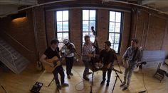"""Live from the Life is good Tavern, The Infamous Stringdusters singing """"Summercamp"""" #TavernSeries"""