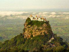 Taung Kalat en Myanmar