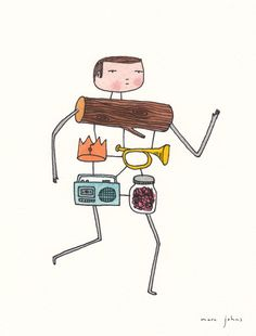 Marc Johns: these are the ingredients of this man