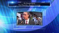 Views of Dr. Pirzada Qasim (Ex-Vice Chancellor Karachi University) about Arrahman Arraheem Network Pakistan, University, Tv, Colleges, Tvs, Television Set, Television
